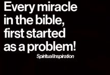 MIRACLES OF THE BIBLE / by Yvonne Baxter