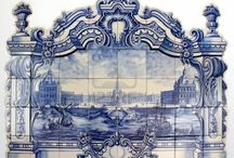 Delft and Majolica Tiles / Having spent my childhood in Portugal, the classic designs of the tiles in and on buildings never fail to inspire me. Here are some examples of Delft and Majolica, on tiles and other ceramicware.