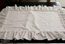 DIY - Pillow Ruffle