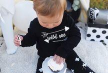 Monocrome baby style