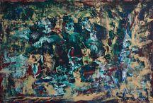 Art | Paintings by Marianne Baan / Marianne Baan uses Acryl, watercolour & mixed materials for her Art | Marianne Baan maakt gebruik van Acryl, Aquarel & Gemengde Technieken voor haar kunst