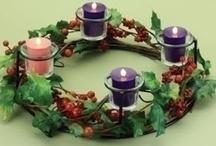 Advent Wreath + Calendar Inspiration