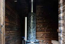 Sauna Ofen Holz beheizt
