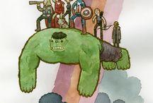superheroes (are cool)  / Livin' la vida Loki / by Sandra Emilie