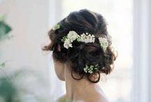 fresh flower for hair