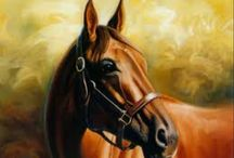 Horse paintings / LOOKS JUST LIKE REAL HORSES