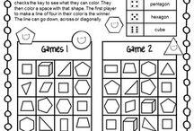 Second grade shapes