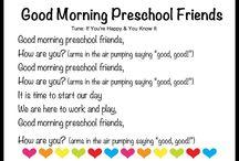 Preschool song