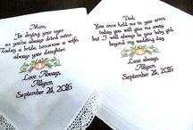 Fall Wedding Handkerchief