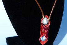 Boho leather jewelries