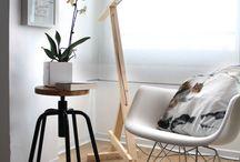 lamparas de escritorio abstractas