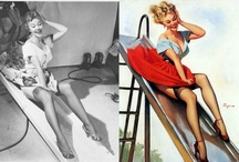Old Hollywood/Pin Ups / by Christine Hauck
