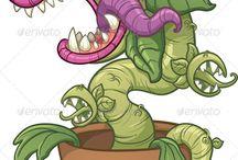 killer plants ahhh!!!!