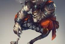 Fantasy Humanoid Monster