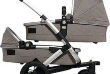 Kinderwagen für Zwillinge & Geschwister | strollers for twins & double strollers / Kinderwagen für Zwillinge und Geschwister müssen praktisch sein, sollen aber auch gut aussehen. Wir sammeln coole Geschwister-Kinderwagen.