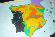 Geografía e historia Primaria / by Pili