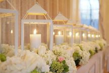 Centerpieces / Ideas for table decoration / by Blossom Blue Photography