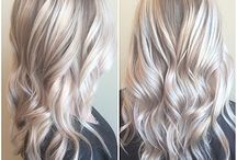 Balayage cold colors