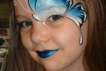 Diseños de pintura de la cara