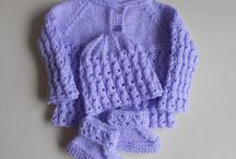 Pattern Lilac Blossom baby set