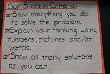 Maths - success criteria