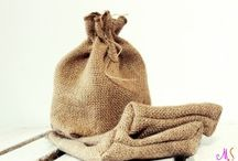 Juta/Burlap / The way you love and adore the nature
