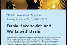 Lecture and Film Night - Daniel Jakopovich and Waltz with Bashir / Tuesday 14th April 2015, 18:00 – 21:00. Daniel Jakopovich is a progressive author and researcher. He edits Novi Plamen, a journal for politics and culture on the territory of former Yugoslavia, in addition to being a Council member of the International Peace Bureau and a campaigner for the Stop the War Coalition.
