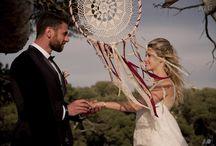 HIPPIE -CHIC WEDDING / Camille RECOLIN, Les Frangines, créatrice  de robe de Mariée .