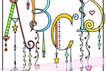 Artistic Lettering Alphabet