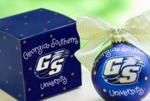 True Blue Christmas / Christmas decorations submitted by True Blue Eagle Fans! / by Georgia Southern University