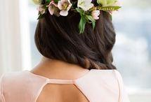 Wedding Hairstyles / Wedding, wedding planning, wedding how-to, wedding blog, wedding tips, wedding ideas, unique wedding, creative wedding, hairstyles, bridal hairstyles, bridal braids, braids, wedding hairstyles