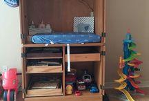 Boy's Toddler Room