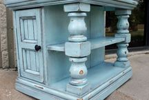 Furniture painting ideas / by Wilma Galvin