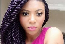 Rock those Braids / A collection of beautiful braiding hair styles for black African women