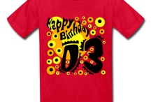 Happy Birthday Fashion 3 Years / The perfect gift for the Birthday Party. Kid's 3 years print design. More Art-Designs at www.pranaboy.com / by PranaBoy Fashion