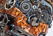 Art et déchets électriques / Sensibilisation au tri et au recyclage des Déchets d'Equipements Electriques et Electroniques.