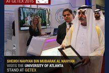 UOFA at GETEX Dubai 2015 / University of Atlanta Celebrating the Grand Response at GETEX