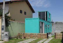 Nossa Casa Container / Um pouco da nossa casa para vocês.