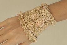 braceletes de croché