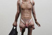 ARTE GROTESCO / Obras de artistas que cultivan el estilo grotesco, tanto en pintura como en esculturas,