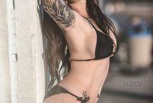 tatoo model / sexy tatoo