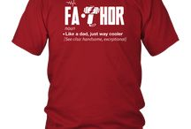 Fathor way cooler Dad Shirt- Funny father's Day Gift