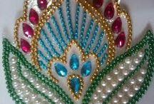 perlas o chaquiras