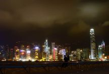 Guangzhou, Shenzhen, Hongkong / Cities of the world by Pete Klimek (www.peteklimek.com)