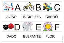 Alfabeto Jogo da Memória