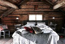 Bedding cabin