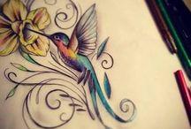 Dibujos en pintura