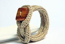 Biżuteria szydełkowa i na drutach
