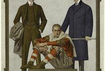 Moda męska 1914-1917