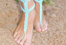 kaalvoet sandels